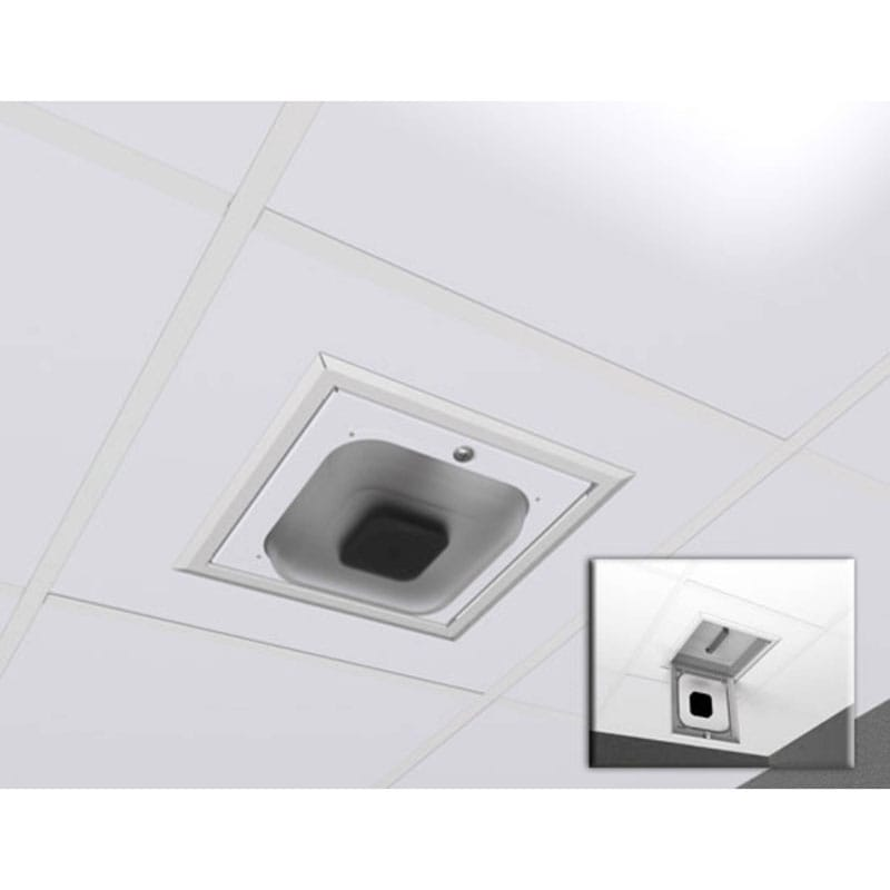 1075-CP Suspended Ceiling Enclosure - Clear PC Dome for Multimedia Gateway