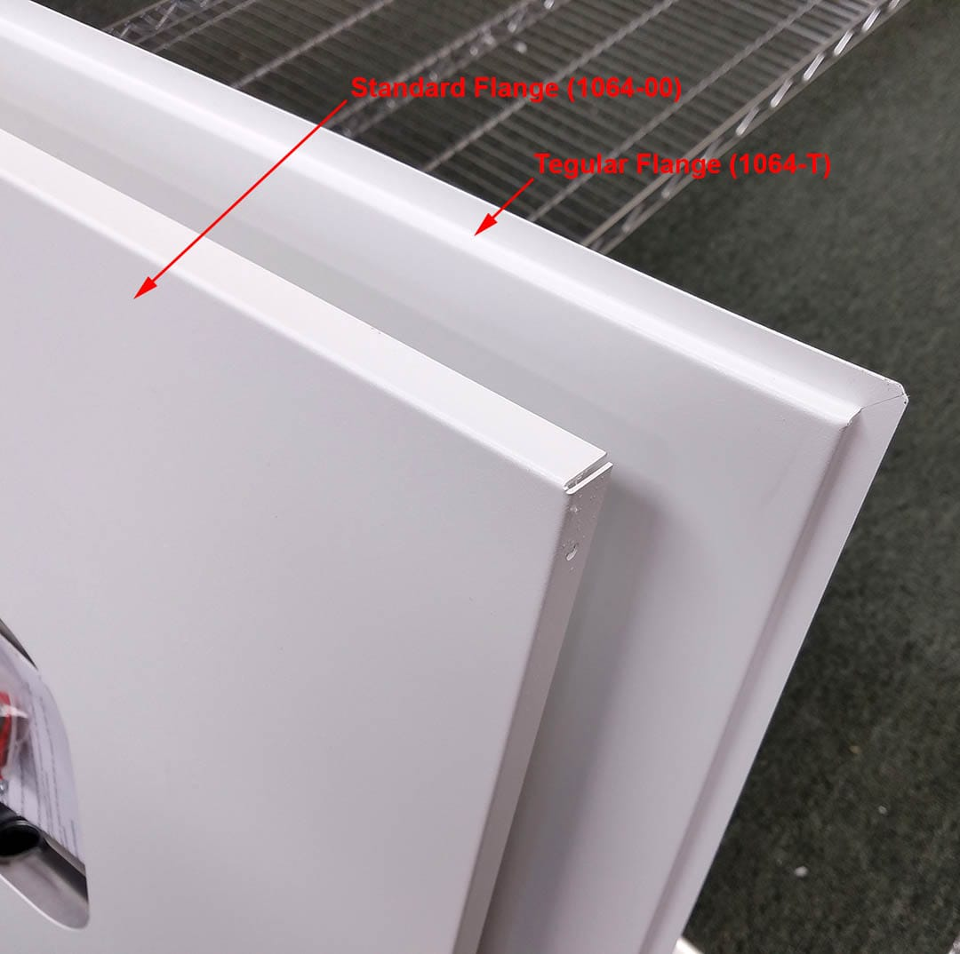 Oberon Inc Ceiling Tile Styles Standard Lay In Vs Tegular